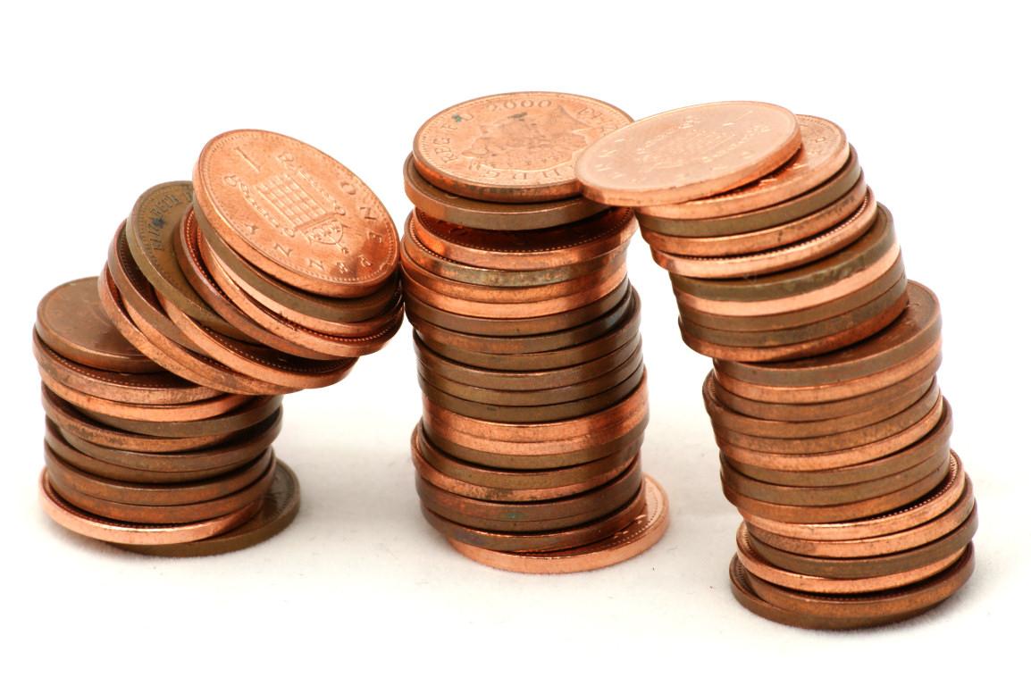 Penny Clip Art Penny Coin Clipart Coin Clip