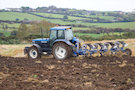 Tractor And Plough